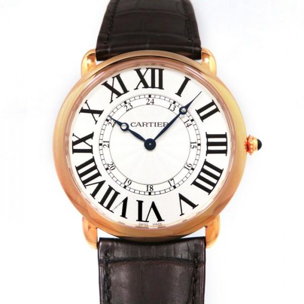 カルティエ CARTIER その他 ロンド ルイ カルティエ W6801004 シルバー文字盤 メンズ 腕時計 【新品】