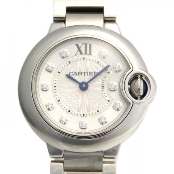 名作 カルティエ Cartier バロンブルー レディース WE902073 シルバー文字盤 Cartier 新品 腕時計 カルティエ レディース, キシマグン:d97a2583 --- somorsunclub.amga-dusch.ru