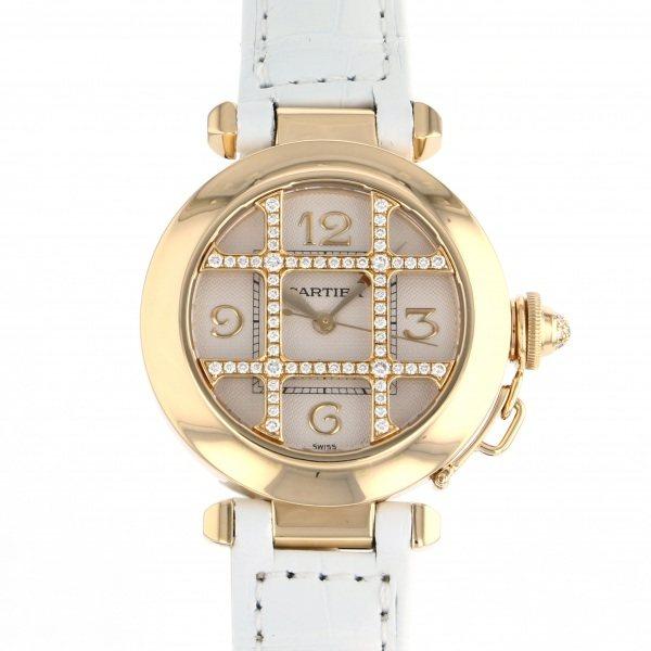 カルティエ CARTIER パシャ グリッド - ゴールド文字盤 レディース 腕時計 【中古】
