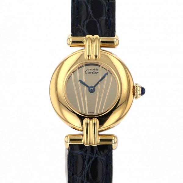 【期間限定ポイント5倍 5/5~5/31】 カルティエ CARTIER その他 マストコリゼ 590002 ゴールド文字盤 レディース 腕時計 【中古】