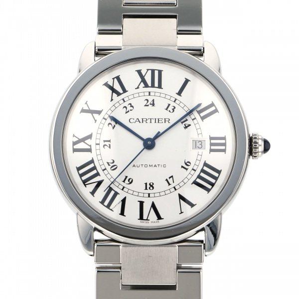 正規品 カルティエ Cartier ロンドソロ W6701011 シルバー文字盤  腕時計 メンズ, フクタマ 35f0d18e