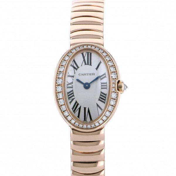 カルティエ CARTIER ベニュワール ミニベニュワール WB520026 シルバー文字盤 レディース 腕時計 【中古】