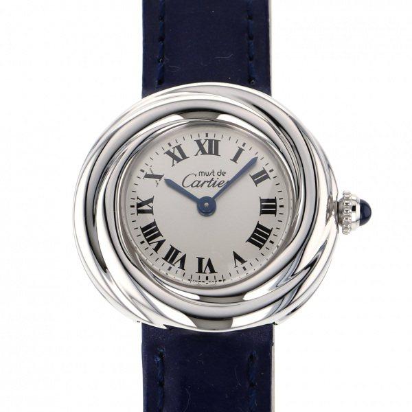 カルティエ CARTIER その他 トリニティ 2439 シルバー文字盤 レディース 腕時計 【中古】