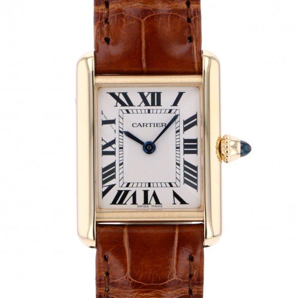 カルティエ CARTIER タンク ルイ カルティエ SM W1529856 シルバー文字盤 レディース 腕時計 【新品】