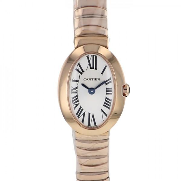 カルティエ CARTIER ベニュワール ミニベニュワール W8000015 ホワイト文字盤 レディース 腕時計 【新品】