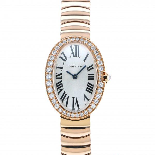 カルティエ CARTIER ベニュワール SM WB520002 シルバー文字盤 メンズ 腕時計 【中古】