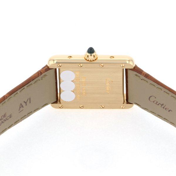 カルティエ CARTIER タンク ルイ カルティエ W1529856 シルバー文字盤 レディース 腕時計 【新品】