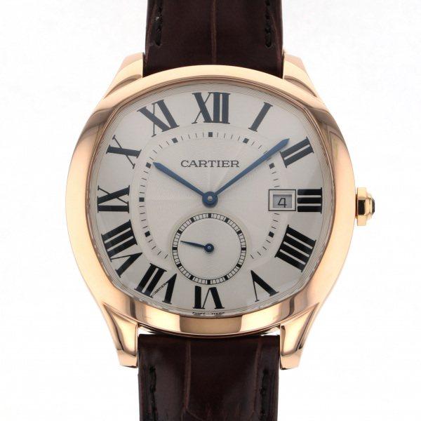 カルティエ CARTIER その他 ドライブ ドゥ カルティエ ウォッチ WGNM0003 シルバー文字盤 メンズ 腕時計 【新品】