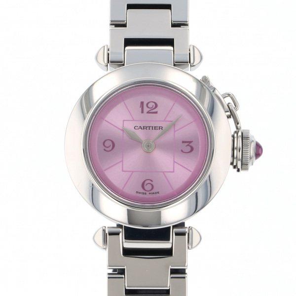 カルティエ CARTIER その他 ミスパシャ 1stアニバーサリー W3140023 ピンク文字盤 レディース 腕時計 【中古】
