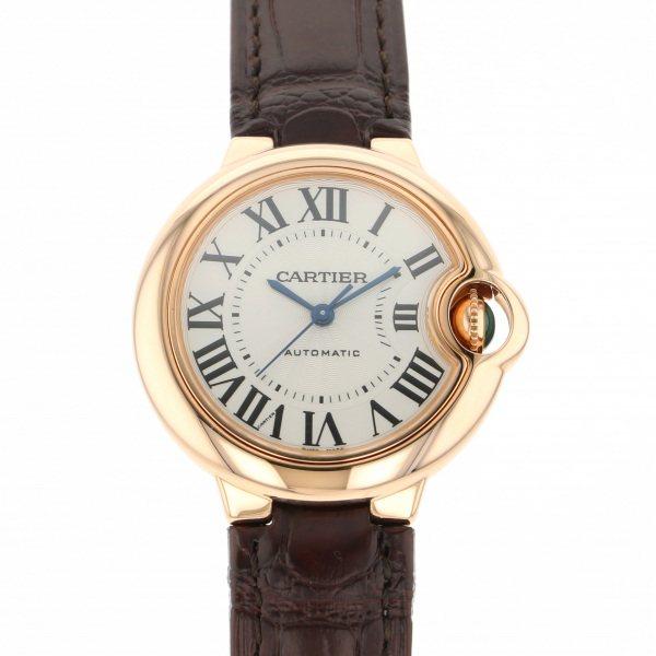 円高還元 カルティエ Cartier W6920097 バロンブルー 33mm W6920097 シルバー文字盤 腕時計 新品 新品 腕時計 レディース, 勝央町:39ed0ec0 --- supernovahol.online