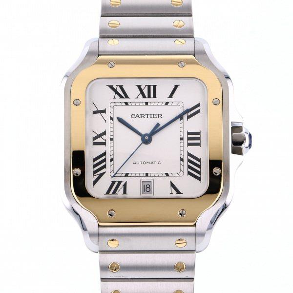 カルティエ CARTIER サントス ドゥ カルティエLM W2SA0006 シルバー文字盤 メンズ 腕時計 【新品】