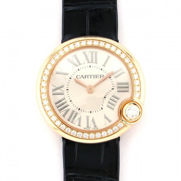 カルティエ CARTIER その他 バロン ブラン ドゥ カルティエ WJBL0005 シルバー文字盤 レディース 腕時計 【新品】