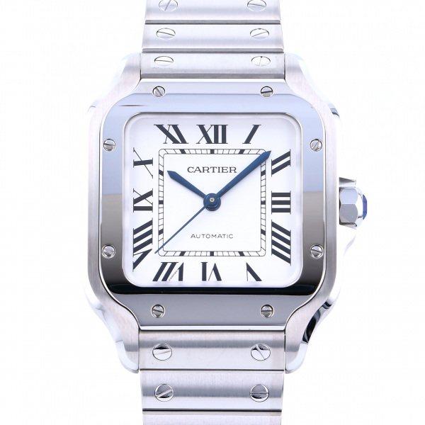 カルティエ CARTIER サントス ドゥ カルティエ MM WSSA0010 シルバー文字盤 メンズ 腕時計 【新品】