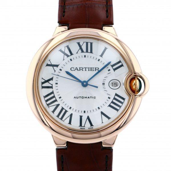 カルティエ CARTIER バロンブルー W6900651 シルバー文字盤 メンズ 腕時計 【新品】
