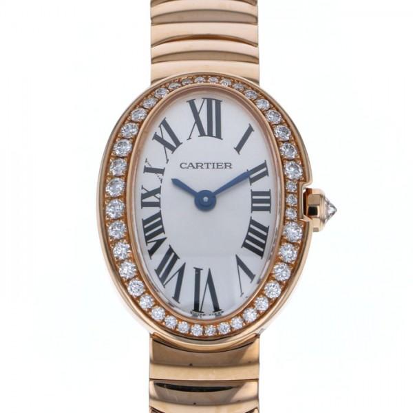 カルティエ CARTIER ベニュワール ミニベニュワール WB520026 シルバー文字盤 レディース 腕時計 【新品】
