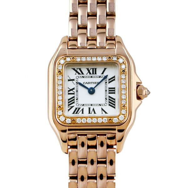 <title>カルティエ Cartier パンテール ドゥ SM WJPN0008 シルバー文字盤 中古 腕時計 !超美品再入荷品質至上! レディース</title>
