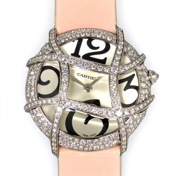 カルティエ CARTIER ロンドフォル WJ304350 シルバー文字盤 レディース 腕時計 【新品】