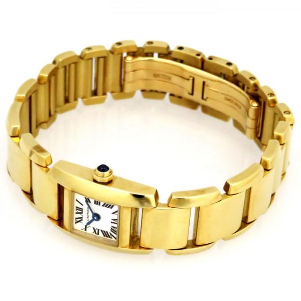 カルティエ CARTIER その他 タンキッシム SM 【生産終了モデル】  W650037H シルバー文字盤 レディース 腕時計 【新品】