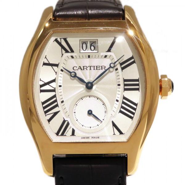 カルティエ CARTIER その他 トーチュ XL ラージデイト スモールセコンド W1556234 シルバー文字盤 メンズ 腕時計 【新品】