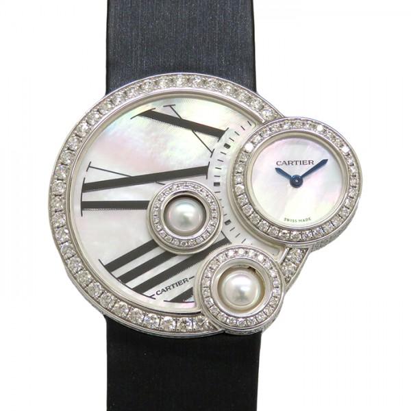 カルティエ CARTIER その他 ペルル ドゥ カルティエ ケースダイヤ WJ304850 ホワイト文字盤 レディース 腕時計 【新品】