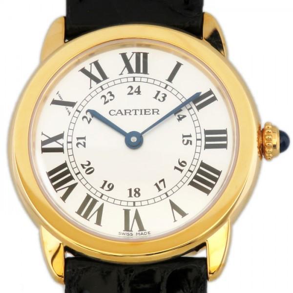 カルティエ CARTIER ロンドソロ SM W6700355 シルバー文字盤 レディース 腕時計 【新品】