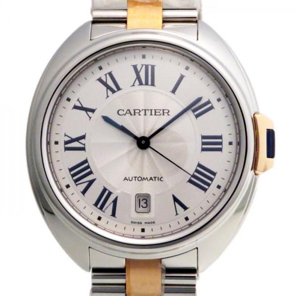 カルティエ CARTIER その他 クレ ドゥ カルティエ W2CL0002 シルバー文字盤 メンズ 腕時計 【新品】