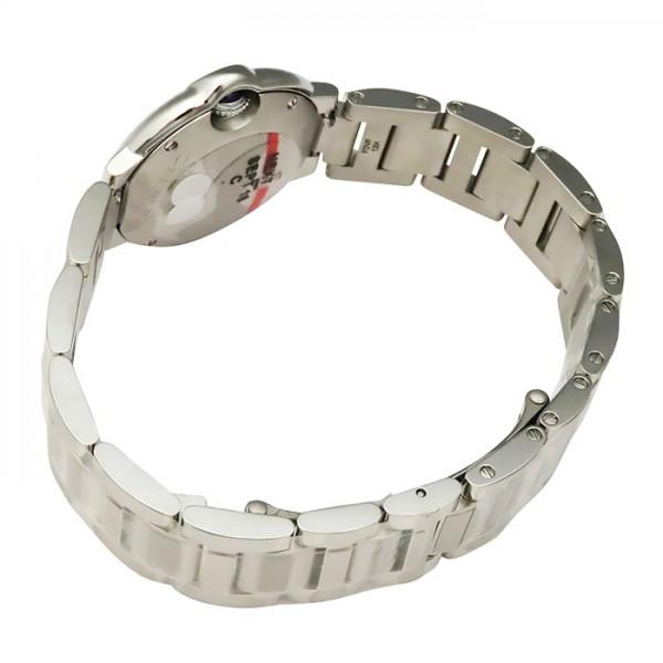 カルティエ CARTIER バロンブルー W6920038 ピンク文字盤 レディース 腕時計 【新品】
