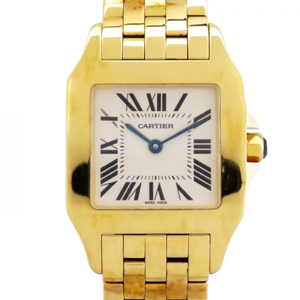 【期間限定ポイント5倍 5/5~5/31】 カルティエ CARTIER サントス ドゥモワゼル LM W25062X9 シルバー文字盤 レディース 腕時計 【新品】