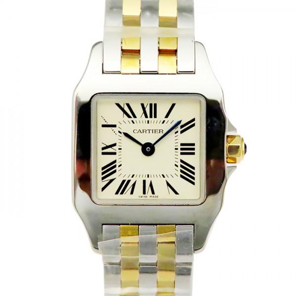 【期間限定ポイント5倍 5/5~5/31】 カルティエ CARTIER サントス ドゥモワゼル W25066Z6 シルバー文字盤 レディース 腕時計 【新品】
