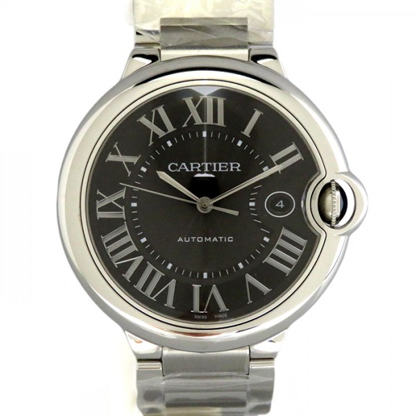 カルティエ CARTIER バロンブルー LM W6920042 ブラック文字盤 メンズ 腕時計 【新品】