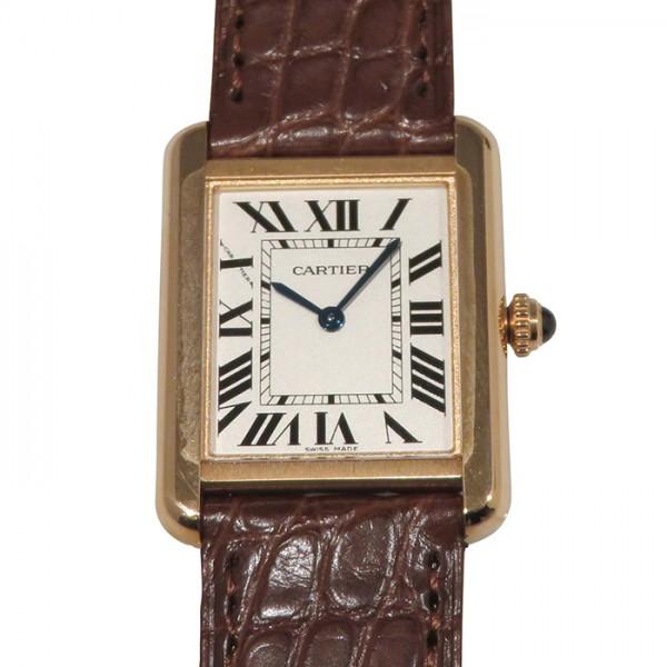 カルティエ CARTIER タンクソロ SM W5200024 ホワイト文字盤 レディース 腕時計 【新品】