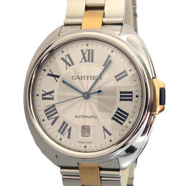 カルティエ CARTIER その他 クレ ドゥ カルティエ W2CL0002 シルバー文字盤 メンズ 腕時計 【中古】