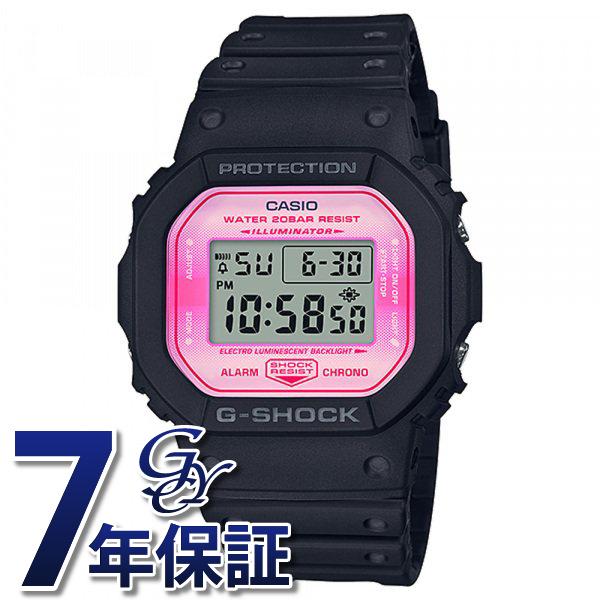 カシオ CASIO Gショック ORIGIN DW-5600TCB-1JR ピンク文字盤 メンズ 腕時計 【新品】