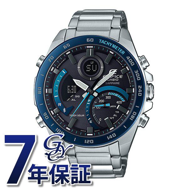 正規品 カシオ CASIO エディフィス スマートフォンリンク 公式ショップ ECB-900 腕時計 メンズ ブラック文字盤 Series ECB-900YDB-1BJF 人気ブランド 新品