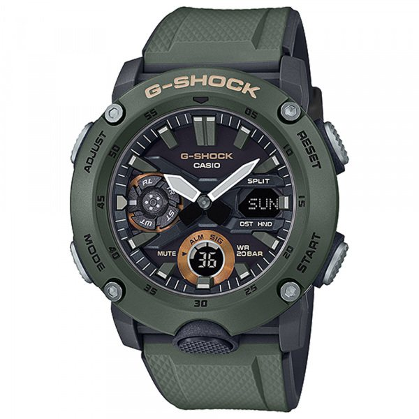 カシオ CASIO Gショック BASIC GA-2000-3AJF ブラック文字盤 メンズ 腕時計 【新品】