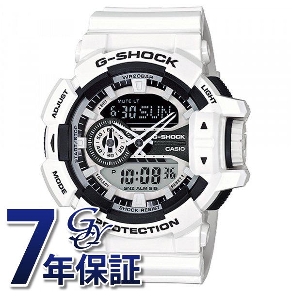 カシオ CASIO Gショック BASIC GA-400-7AJF ブラック/ホワイト文字盤 メンズ 腕時計 【新品】