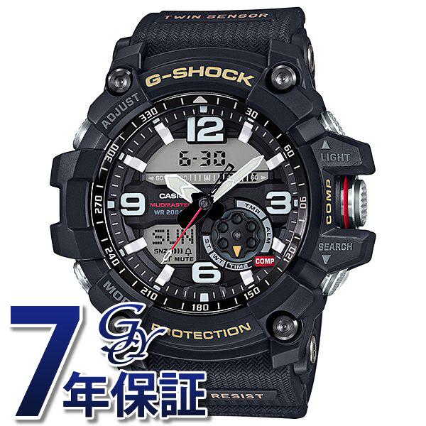 カシオ CASIO Gショック MUDMASTER Twin Sensor GG-1000-1AJF ブラック文字盤 メンズ 腕時計 【新品】