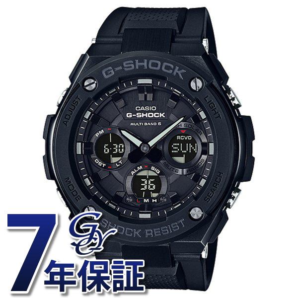 カシオ CASIO Gショック G-STEEL 電波ソーラー GST-W100G-1BJF ブラック文字盤 メンズ 腕時計 【新品】