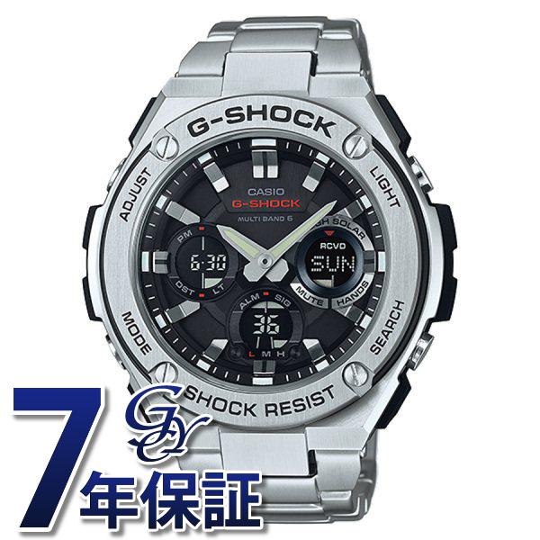 カシオ CASIO Gショック G-STEEL 電波ソーラー GST-W110D-1AJF ブラック文字盤 メンズ 腕時計 【新品】
