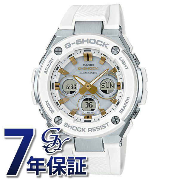 カシオ CASIO Gショック ミドルサイズ 電波ソーラー GST-W300-7AJF ホワイト文字盤 メンズ 腕時計 【新品】