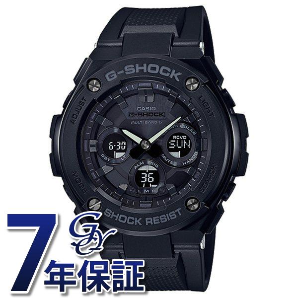 カシオ CASIO Gショック ミドルサイズ 電波ソーラー GST-W300G-1A1JF ブラック文字盤 メンズ 腕時計 【新品】