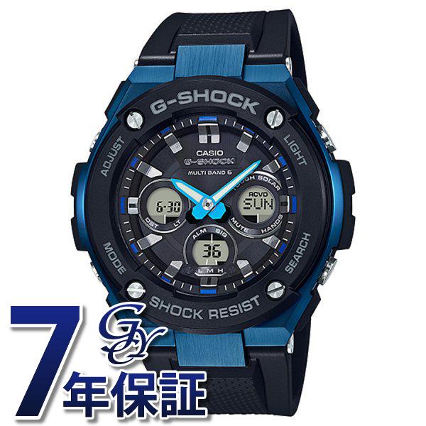 カシオ CASIO Gショック ミドルサイズ 電波ソーラー GST-W300G-1A2JF ブラック文字盤 メンズ 腕時計 【新品】
