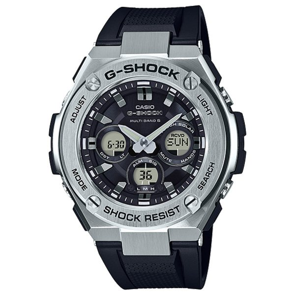 カシオ CASIO Gショック ミドルサイズ 電波ソーラー GST-W310-1AJF ブラック文字盤 メンズ 腕時計 【新品】