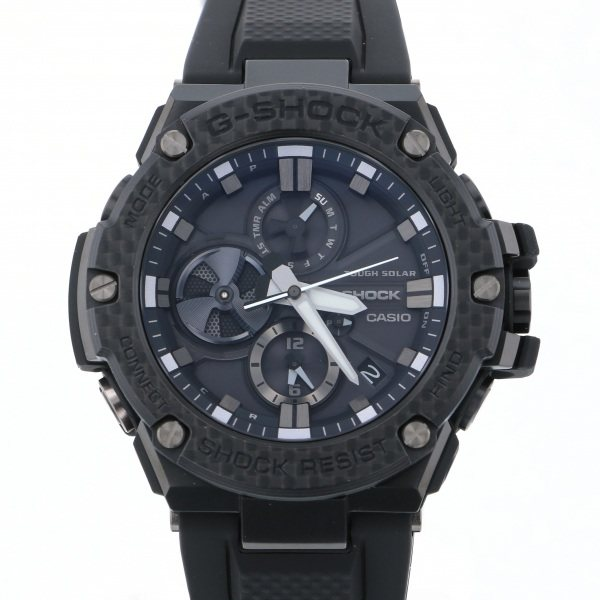 【期間限定ポイント5倍 5/5~5/31】 カシオ CASIO Gショック Bluetooth搭載タフネスクロノグラフ GST-B100X-1AJF ブラック文字盤 メンズ 腕時計 【新品】