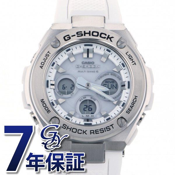 カシオ CASIO Gショック G-STEEL GST-W310-7AJF ホワイト文字盤 メンズ 腕時計 【新品】