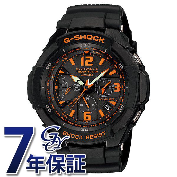 【期間限定ポイント5倍 5/5~5/31】 カシオ CASIO Gショック GRAVITYMASTER GW-3000B-1AJF ブラック文字盤 メンズ 腕時計 【新品】