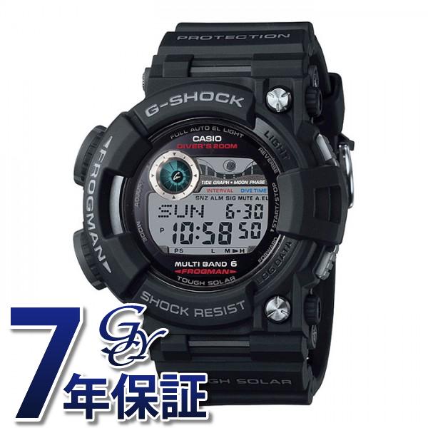 カシオ CASIO Gショック マスターオブG フロッグマン 【正規品】 GWF-1000-1JF グレー文字盤 メンズ 腕時計 【新品】