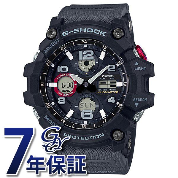 カシオ CASIO Gショック MUDMASTER GWG-100-1A8JF ブラック文字盤 メンズ 腕時計 【新品】