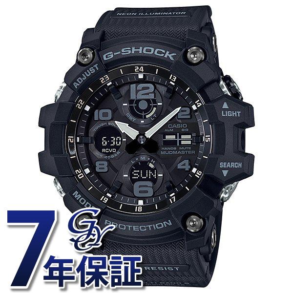 カシオ CASIO Gショック MUDMASTER GWG-100-1AJF ブラック文字盤 メンズ 腕時計 【新品】
