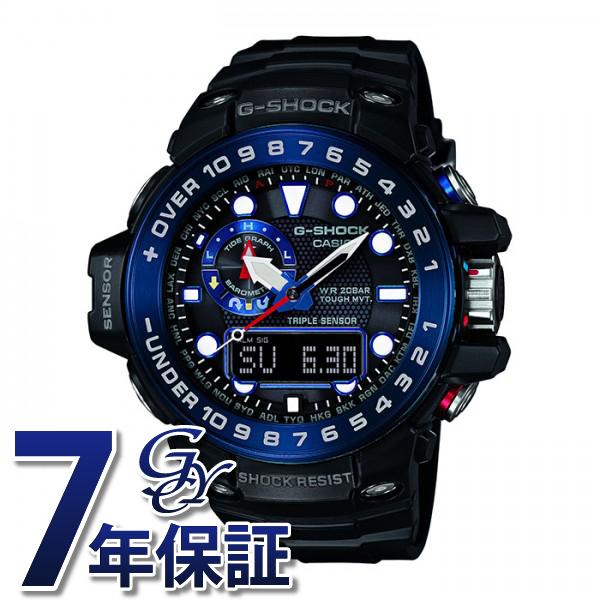 カシオ CASIO ジーショック マスターオブG ガルフマスター トリプルセンサー 【正規品】 GWN-1000B-1BJF ブラック文字盤 メンズ 腕時計 【新品】